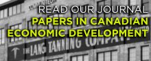 Read our journal Papers in Canadian Economic Development