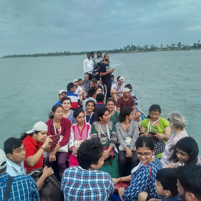 boat full of people