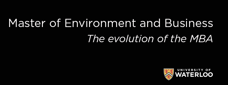 Master of Environment and Business: the evolution of the MBA