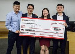 SAF Business Strategy Case Competition - 1st place