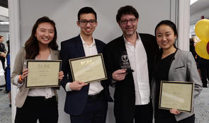 2019 ICBC Competition Team - 2nd Place