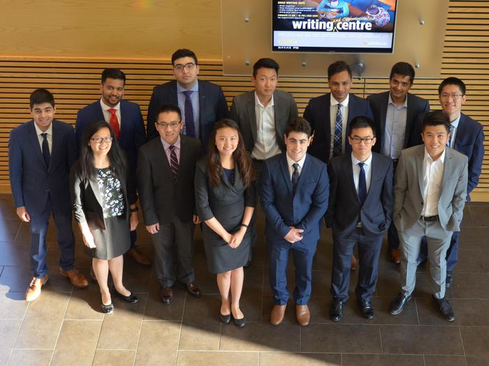 Fall 2017 Waterloo Student Venture Fund team