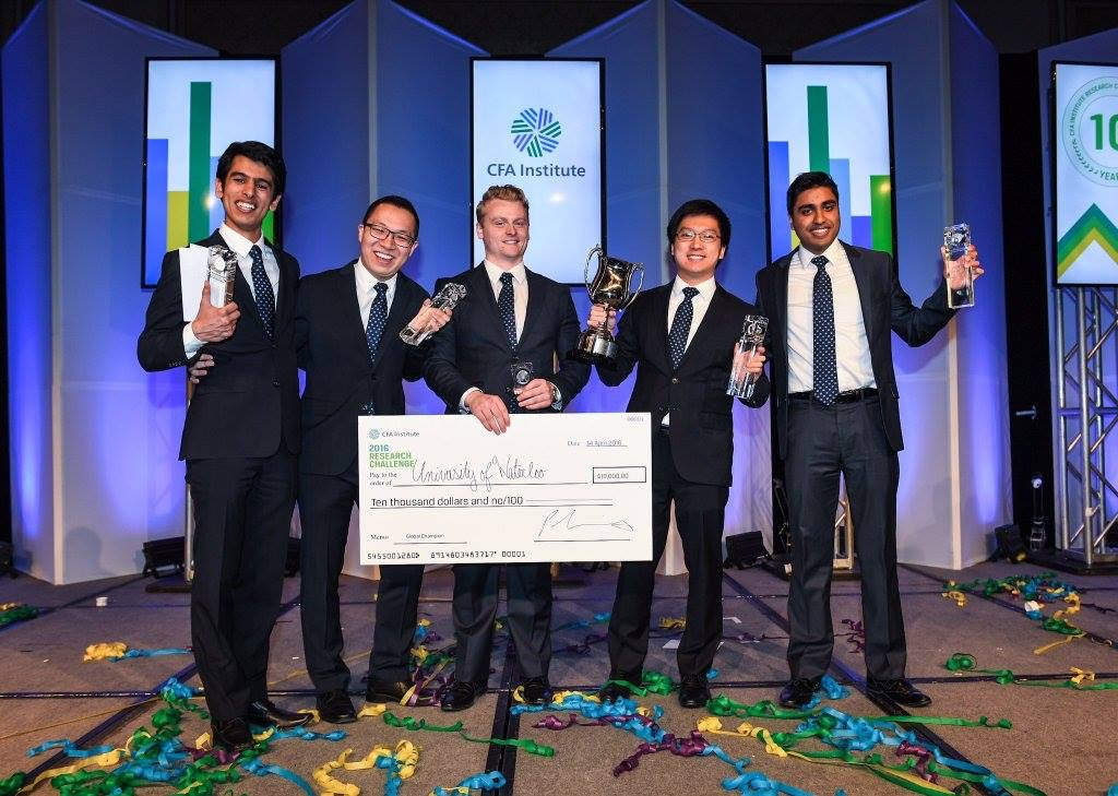 2016 CFA Research Institute Challenge Winners