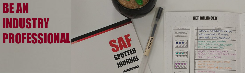 Aspiring Professionals get balanced with the SAF spotted journal