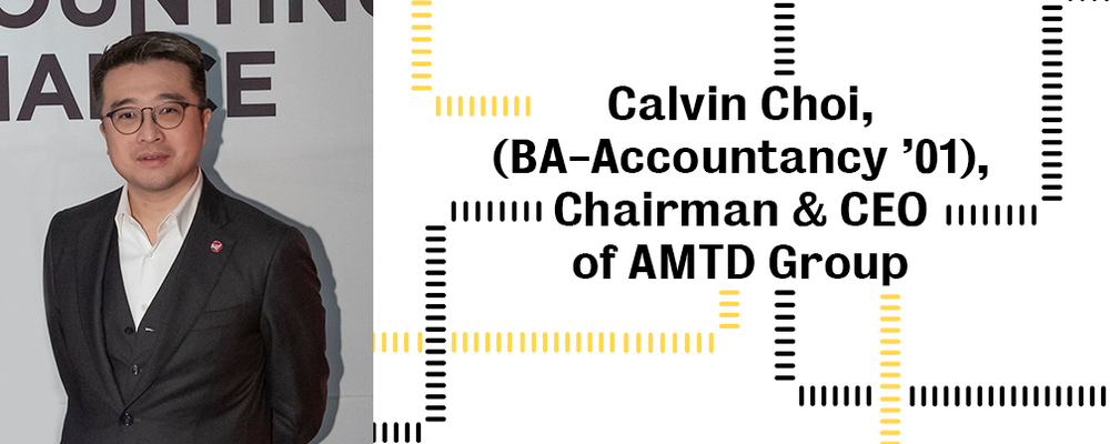 Image of Calvin Choi, Chairman and CEO of AMTD Group