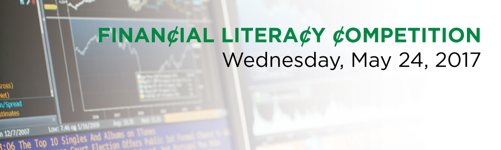 Financial Literacy Competition. Wednesday May 24, 2017.