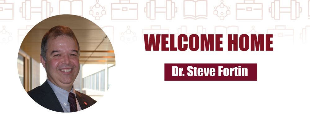 SAF welcomes Dr. Steve Fortin as new SAF Director