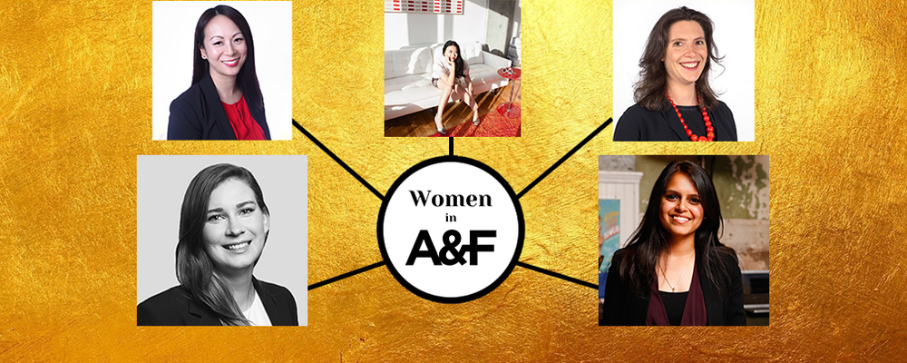 Images of the participants in the Women in A&F Summit