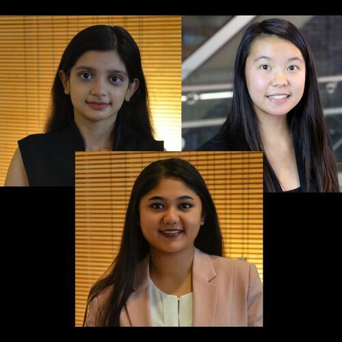 Anika, Arushi and Isabel Group 1