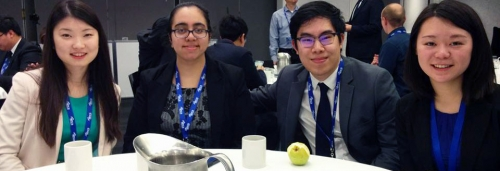 SAF students compete at NBTC competition