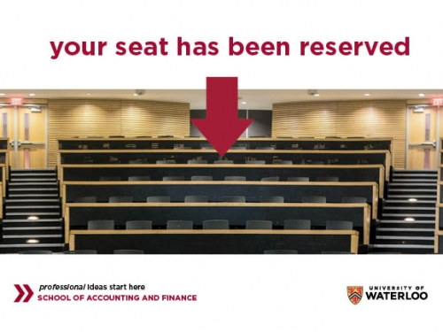 Your seat has been reserved
