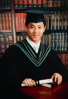 David Ha MAcc grad portrait