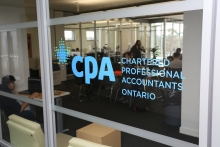 CPA Student Lounge, sponsorship recognition