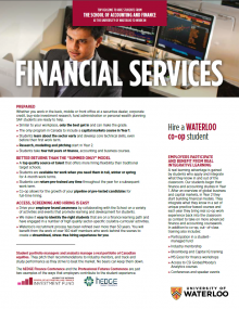 Financial Services Employer Information Package