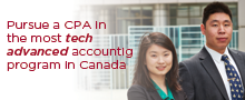 Mathematics and Chartered Professional Accountancy (CPA) program