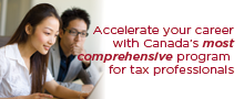 Master of Taxation (MTax) program