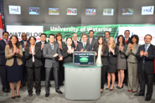 Toronto Stock Exchange (TSX) opening march 2013