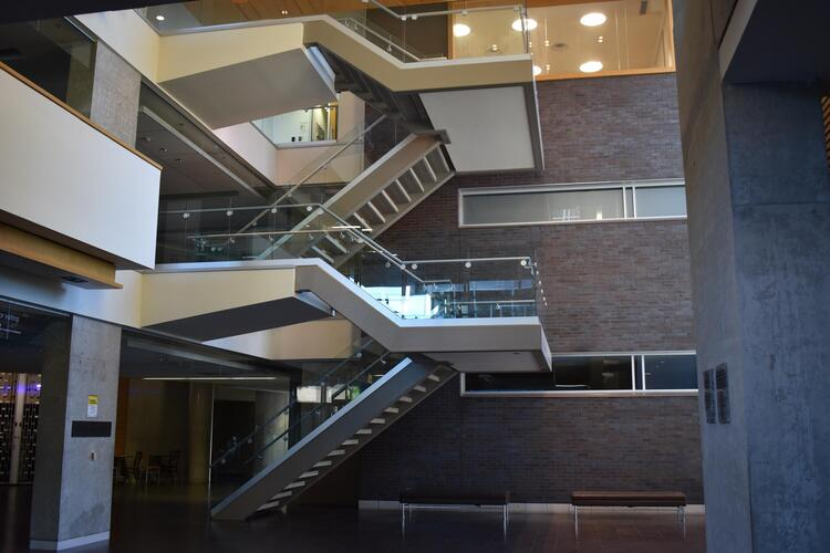 Picture of the SAF stairs
