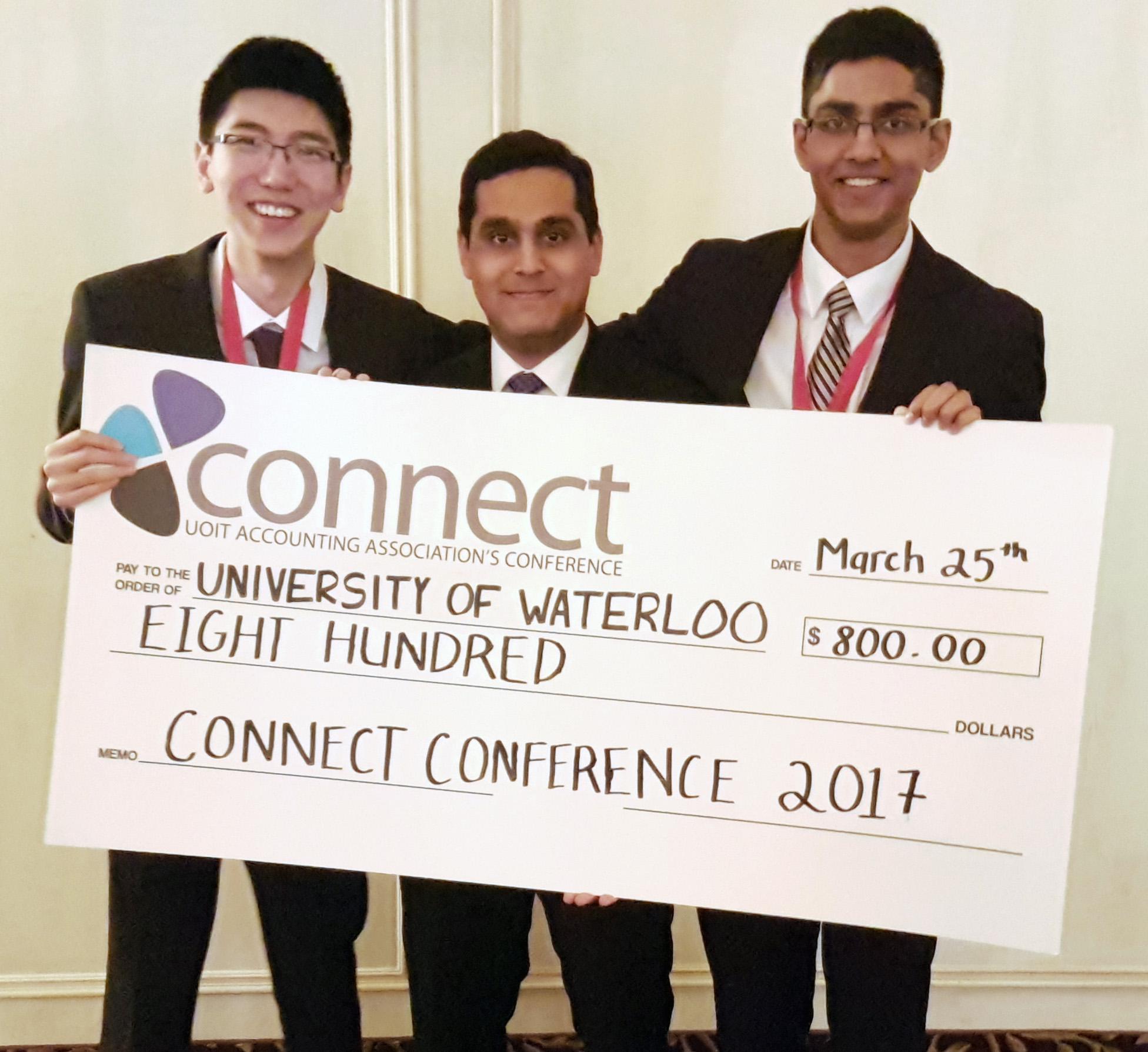 Leo Lin, Daniyal Ahmed, Nathan D'Souza