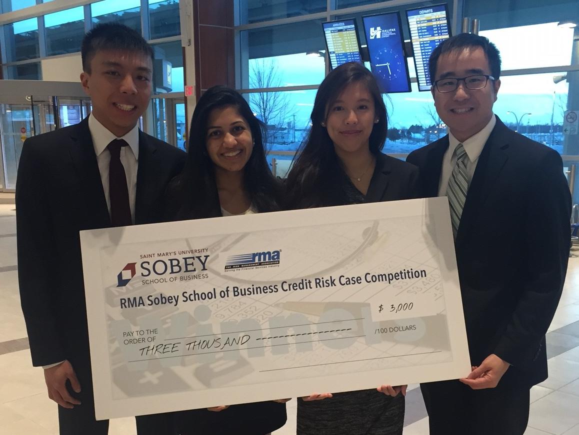 SAF team: Joseph Chiu, Archella Chittella, Rosanne Lai, Jeffrey Wong