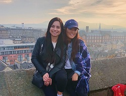 Bianca and Tiffany in Scotland