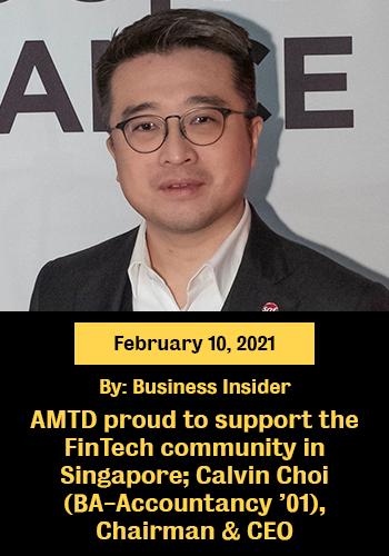 AMTD support Fintech Singapore