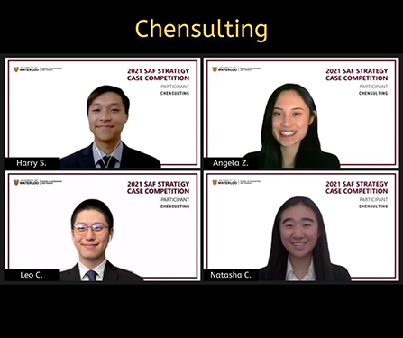 Group photo of the Chensulting team