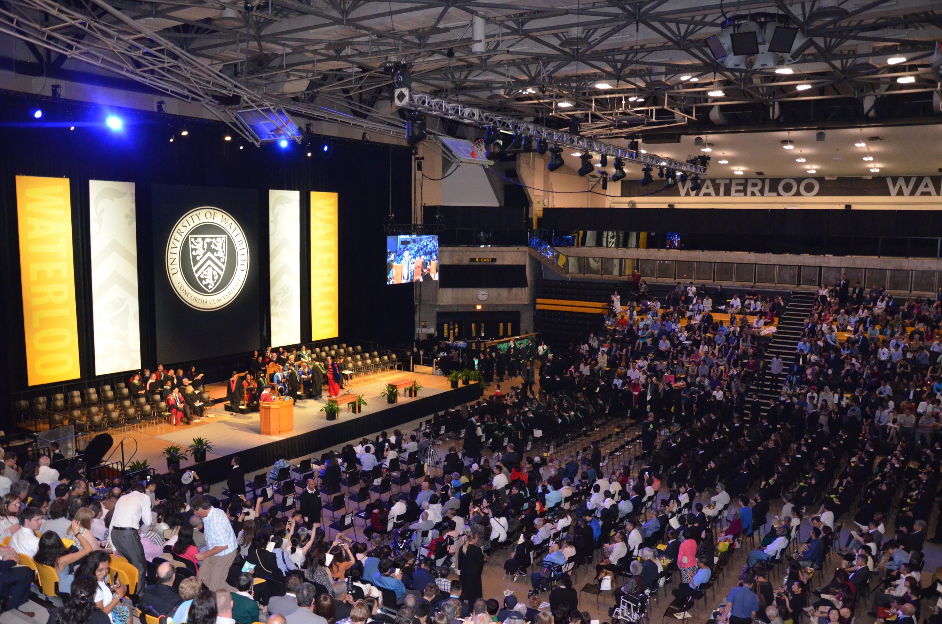 Convocation ceremony hall