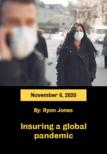 Insuring a global pandemic