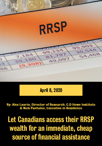 """RRSP banner linking to the article """"Let Canadians access their RRSP wealth"""