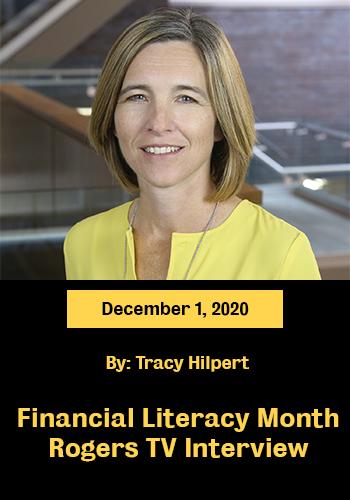 tracy hilpert Financial Literacy Month