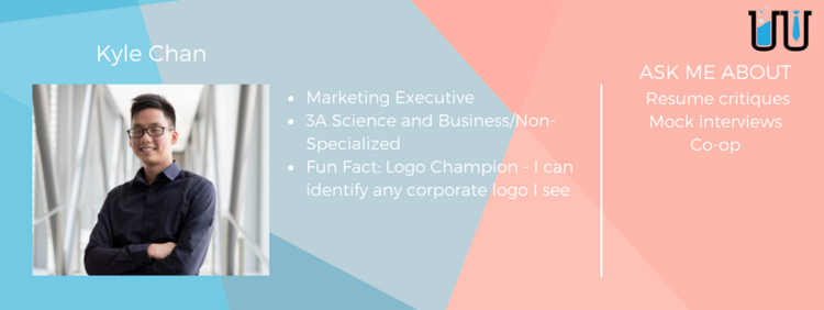 Kyle Chan. Marketing executive. 3A Science and business/non-specialized.