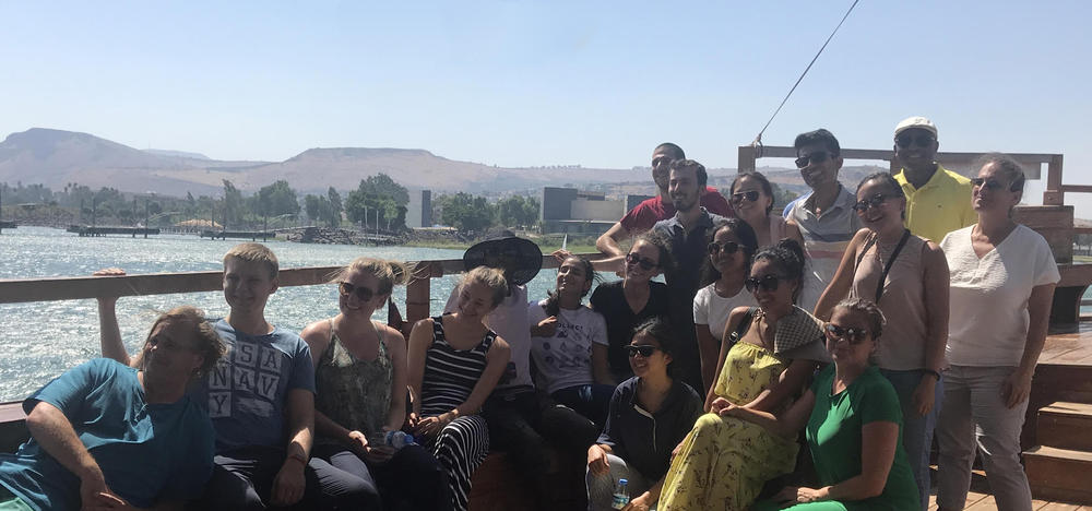 SCI 230 students in Israel
