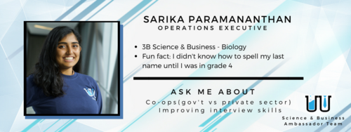 I didn't know how to spell my last name until I was in grade 4. Ask me about co-ops (gov't vs private sector) and improving interview skills.