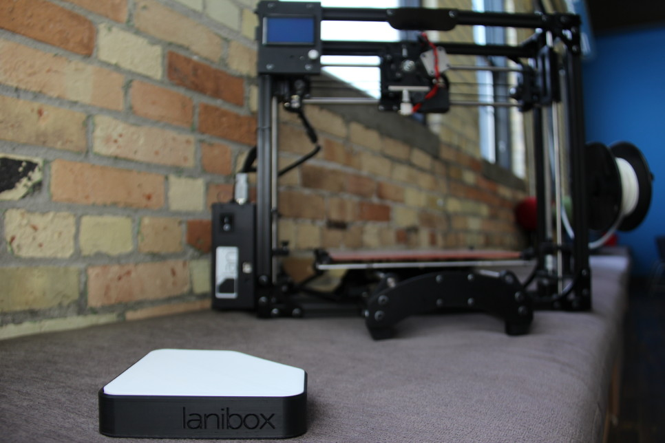 The Lanibox will make 3D printing easy for users.