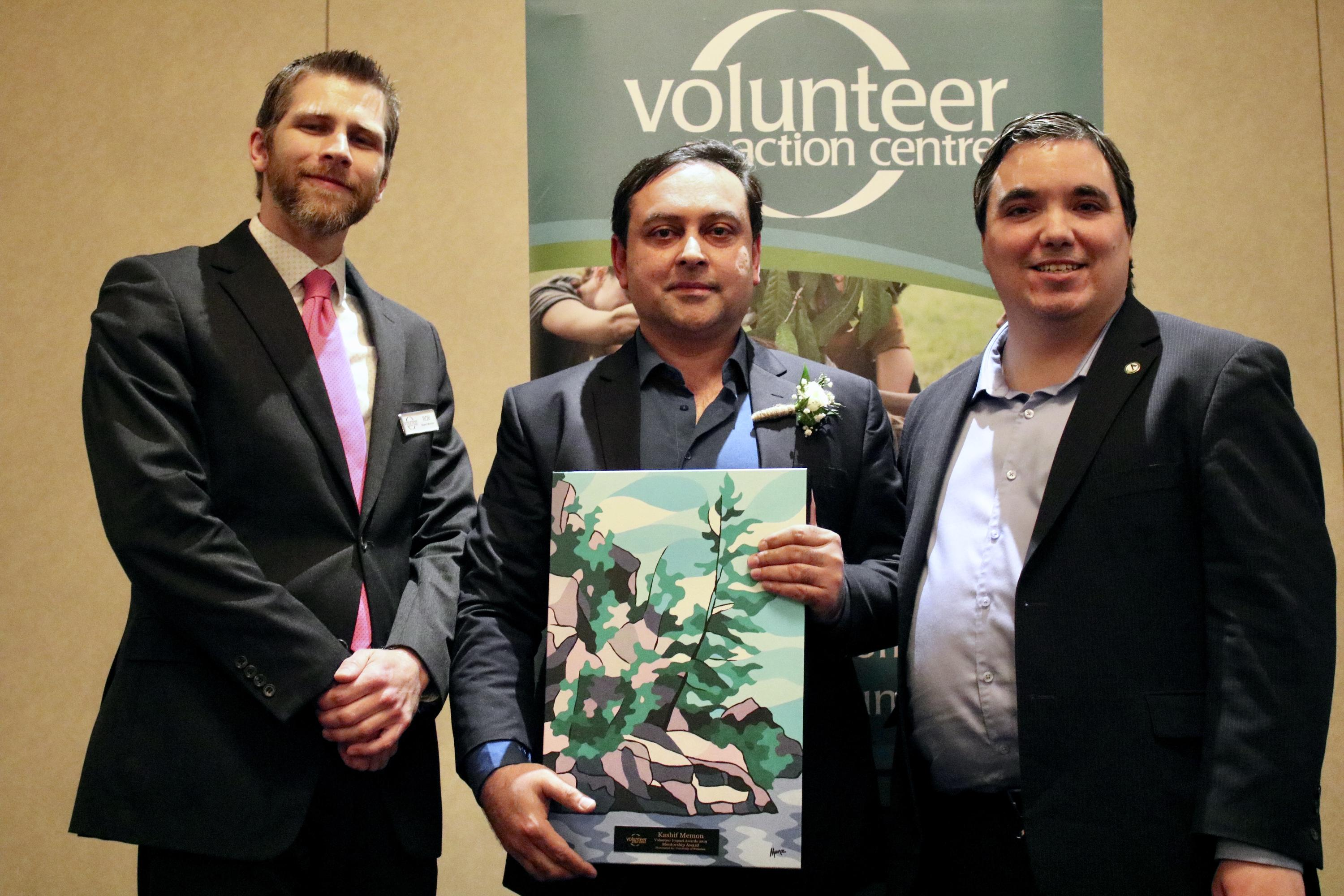 Dr. Kashif Memon honoured at the Volunteer Impact Awards