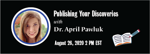 Publishing your Discoveries banner