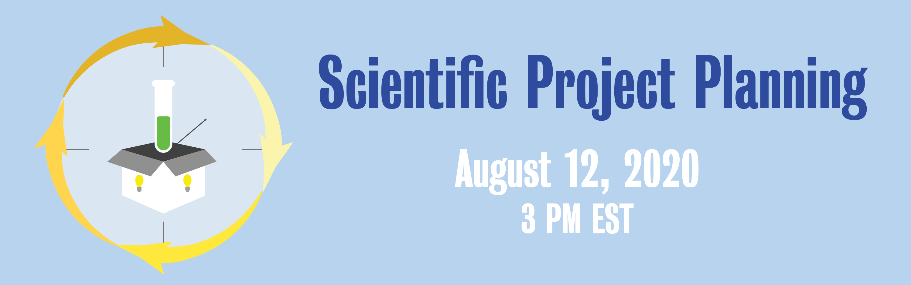 Scientific Project Planning banner