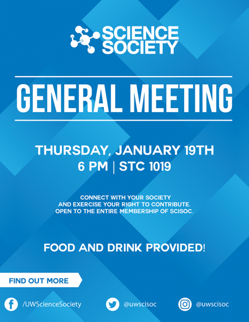 Winter 2017 General Meeting