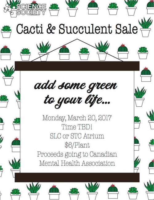 Charity Cacti and Succulent Sale