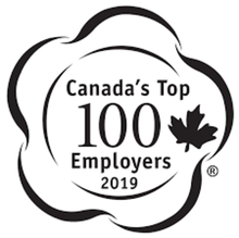 Canada's Top 100 Employers 2019 logo