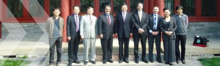 Uwaterloo Science delegation visits China