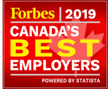 Forbes 2019 Canada's Best Employers logo