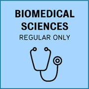 Biomedical sciences, regular only