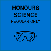 Honours science, regular only
