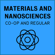 Materials and nanosciences, co-op and regular