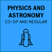 Physics and astronomy, co-op and regular