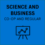 Science and business, co-op and regular