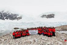 Homeward bound cohort 2 in Antarctica