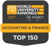 2017 QS World Subject Ranking Accounting & Finance Top 150